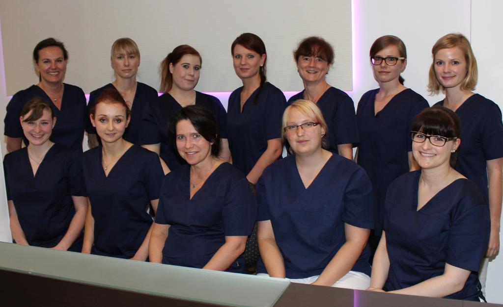 Team der Zahnarztpraxis Dr. S.Dehne.